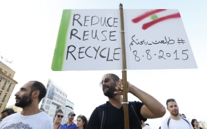 beirut-waste-demo-lebanon