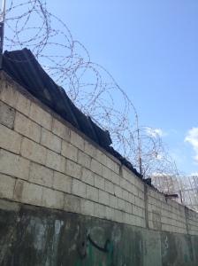 Los muros de Chatila vistos desde afuera