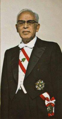 Nepotismo. Sleiman Frangieh, abuelo del candidato, fue presidente del Líbano entre 1970-76.