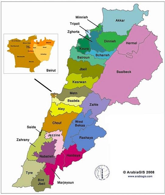 1960-electoral-law-map-lebanon